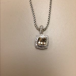 David yurman 7x7mm necklaces